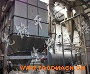 磷酸铁干燥工程(DGXS型电池材料气旋式闪蒸干燥机)