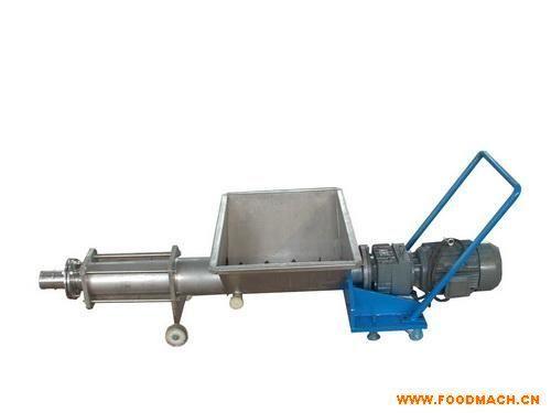 果蔬用果浆螺杆泵