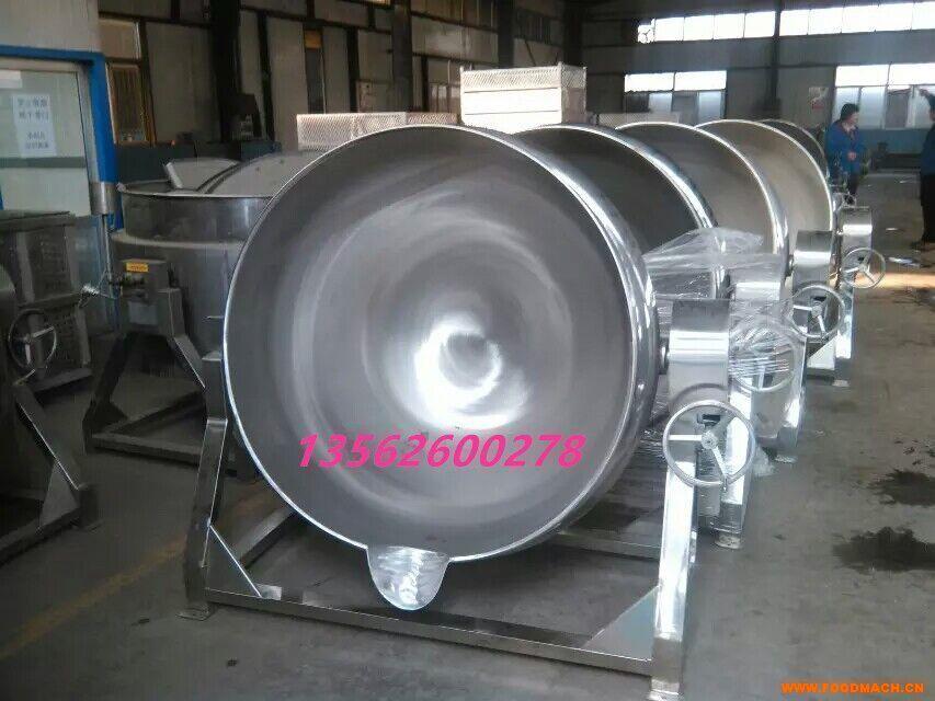 不锈钢夹层锅 蒸煮锅生产厂家直销
