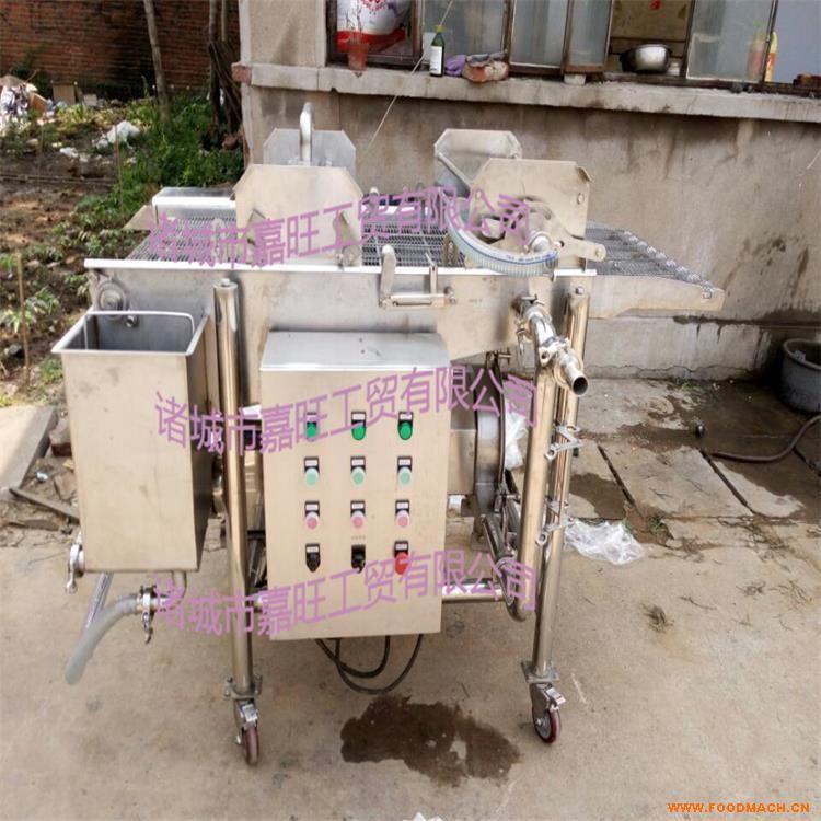 供应 鸡腿上浆机 嘉旺专业生产肉制品上浆机-肉饼上下淋浆机
