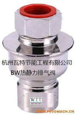 瓦特BW热静力排空气阀