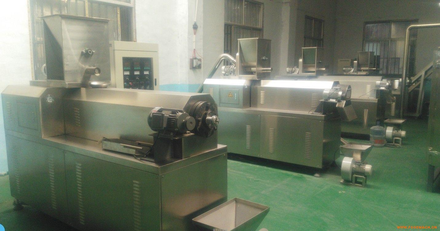 霖奥双螺杆膨化机五谷杂粮膨化机生产线