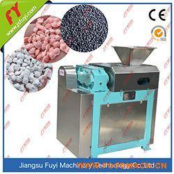 氯化钾对辊挤压造粒机,干法辊压造粒设备,掺混肥对辊造粒生产线