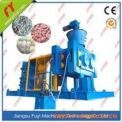 掺混肥对辊挤压造粒成套设备,硫酸钾干法辊压造粒生产线.