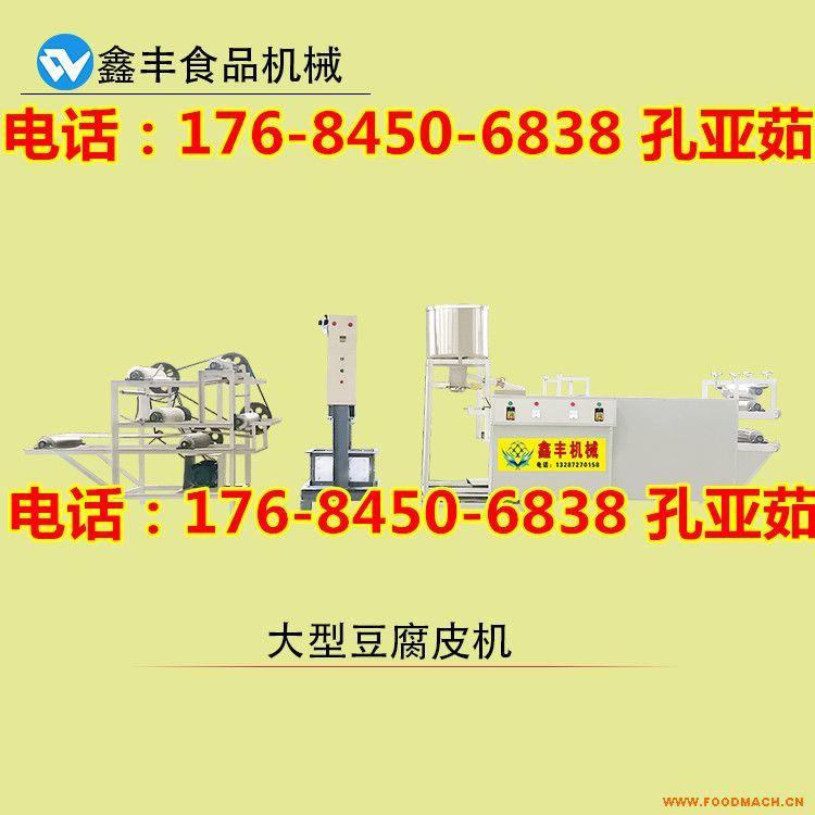 海南全自动豆腐皮机大型多少钱 节能低耗环保家用豆腐皮机