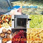 厂家直销果蔬片苹果片空气能烘干箱