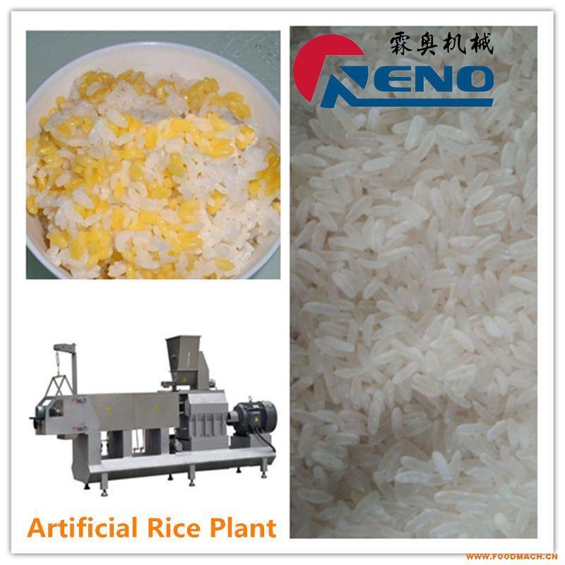速食大米设备生产线 营养大米机器  营养大米膨化机
