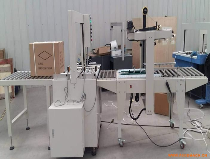 专业生产直销加气砖流水线打包机