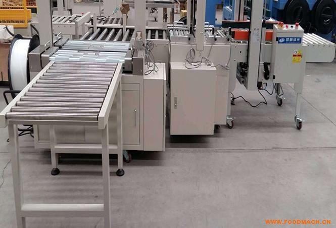供应流水线打包机塑钢带打包机