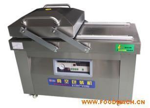 厂家专业生产豆腐鱼干鱿鱼仔双室真空机包装机