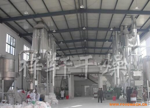 糯米粉气流干燥机干燥生产线