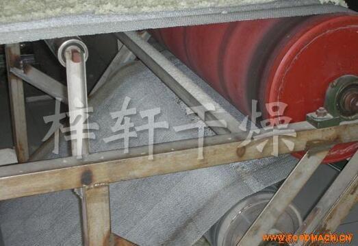 方便米饭蒸熟之专用带式干燥机