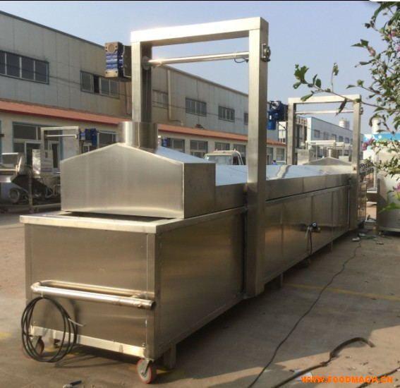 全自动卤制流水线食品蒸煮机卤制机
