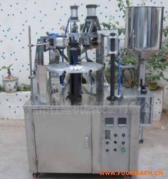 灌装封尾机 芥末灌装机生产厂家