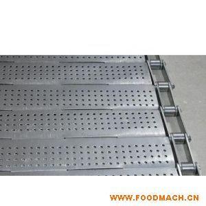 厂家销售 不锈钢链板 防滑链板冲孔链板 转弯链板