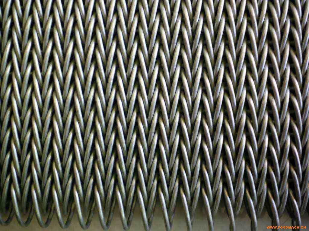 厂家直销304人字形不锈钢网带 耐高温耐腐蚀清洗机单冻机网带网链