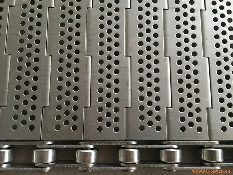 厂家直销304不锈钢链板 非标定板式链板 输送烘干清洗机冲孔链板