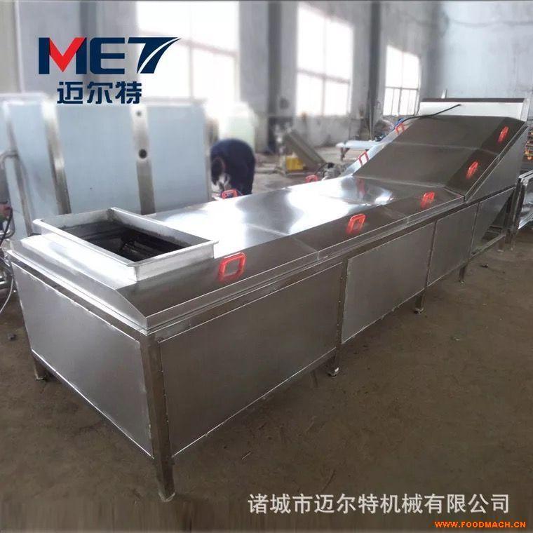 供应厂家直销连续式小龙虾蒸煮机 提升式小龙虾蒸煮机