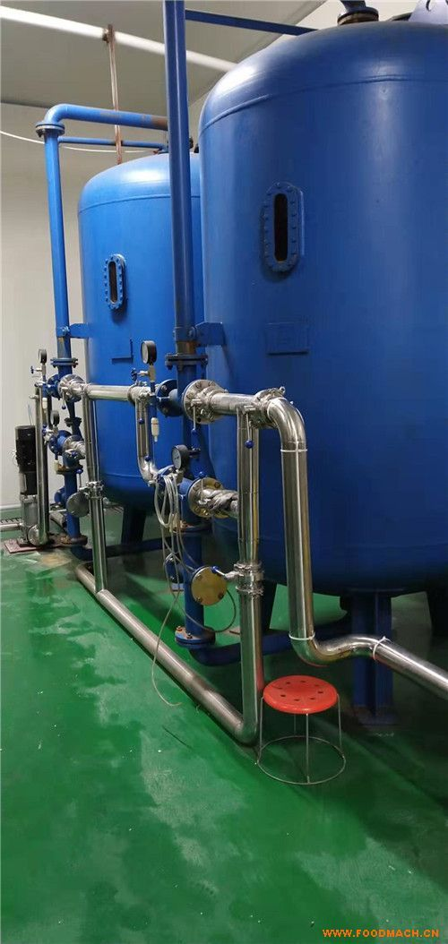 矿泉水设备生产工艺