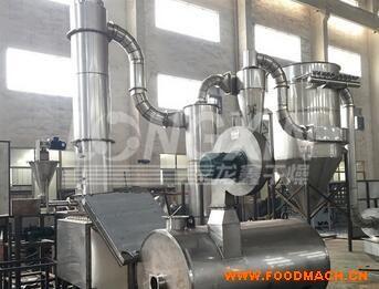 旋转闪蒸干燥机-工作原理-性能特色