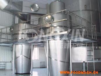 压力式喷雾(冷却)干燥机-工作原理-性能特点