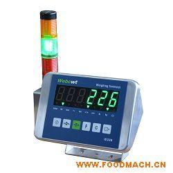 ID226电子称重仪表,塑料或者不锈钢材质可带报警灯