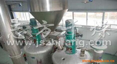 淀粉反应生产线  干法变性淀粉干燥机生产线