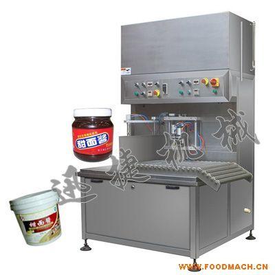 山东甜面酱灌装机桶装甜面酱灌装机郫
